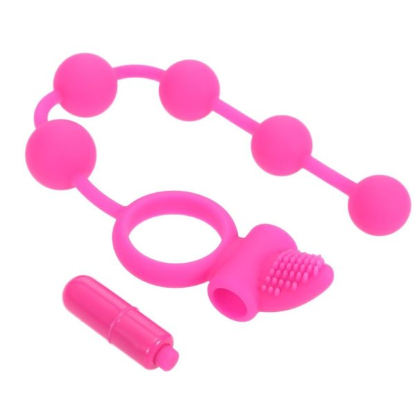 HEARTLEY Cock Ring Anal Ball Toy