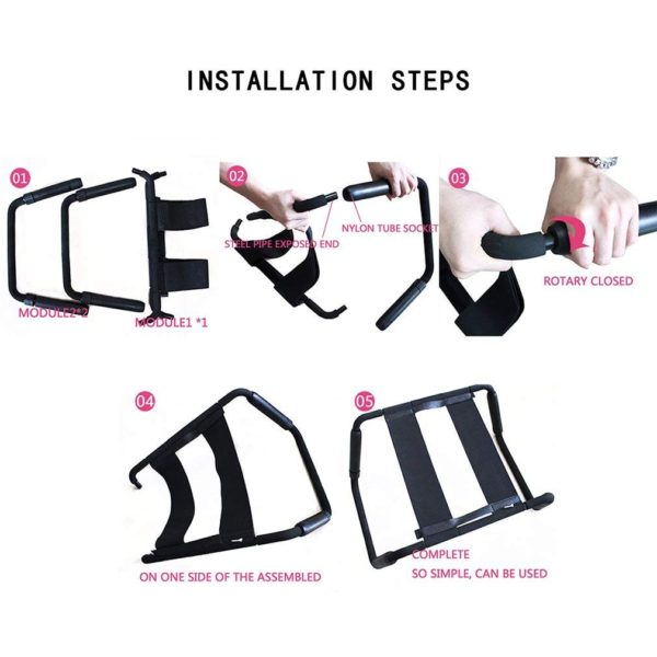 HEARTLEY Multifunction Adjustable Position Aid Sex Chair (Plus Size)